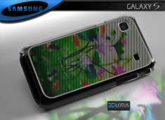 "Coque Galaxy S i9000 ""3D Lotus"""