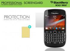 KIT avec 1 film protecteur + 1 chiffon Blackberry Bold 9900