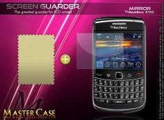 KIT avec 1 film protecteur effet Miroir + 1 chiffon Blackberry Bold 9700