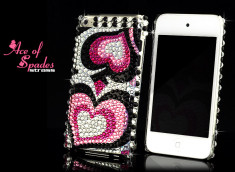 Coque iPod Touch 4 Ace of Spades Strass