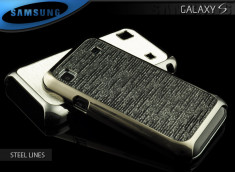 Coque Samsung Galaxy S i9000 Steel Relief
