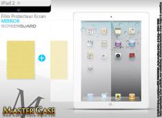 KIT 1 film protecteur (effet miroir) + 1 chiffon pour iPad 2
