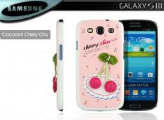 Coque Samsung Galaxy S3 Cherry Chu par Cocoroni