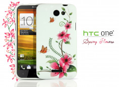 Coque HTC One X  Spring  Flowers