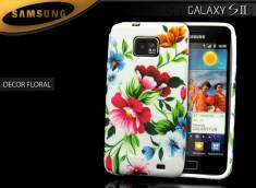 Coque Samsung Galaxy S2 i9100 fleur