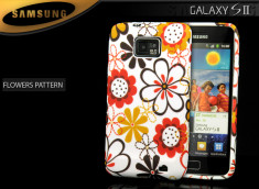 Coque Galaxy S2 i9100 Flowers Pattern