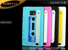 Coque Galaxy S2 Retro Tape