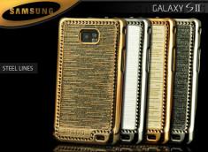 Coque Samsung Galaxy S2 i9100 Steel Lines