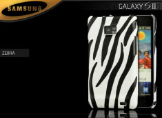 Coque Galaxy S2 Zebra