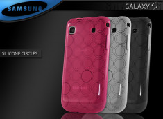 "Coque Galaxy S i9000 ""Silicone Circles"""