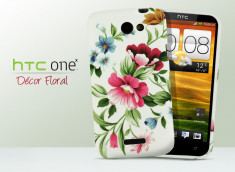 Coque HTC One X Décor Floral