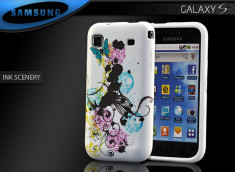 "Coque Galaxy S i9000 ""Ink Scenery"""