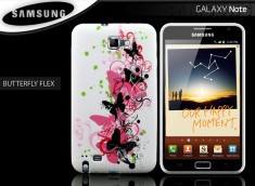 Coque Samsung Galaxy Note 1 Butterfly Flex