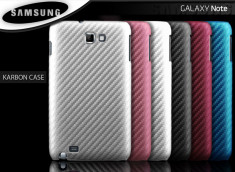 Coque Samsung Galaxy Note 1 Karbon Case