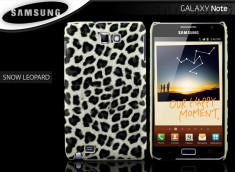 Coque Galaxy Note Snow Leopard