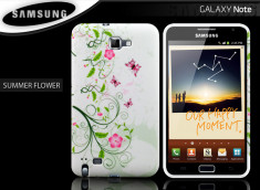 Coque Samsung Galaxy Note 1 Summer Flower
