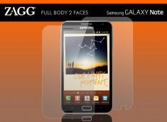 Kit 2 Films Full Body - Invisible Shield Samsung Galaxy Note 1