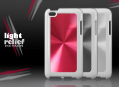 "Coque iPod Touch 4 ""Light Relief"""