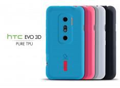 Coque HTC Evo 3D Silicone Pure TPU