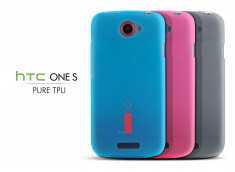 Coque HTC One S Silicone Pure TPU Case