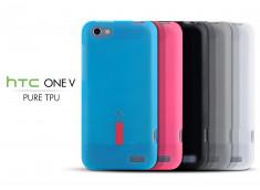 Coque HTC One V Pure TPU Case