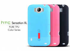 Coque HTC Sensation XL Pure TPU - Color Series