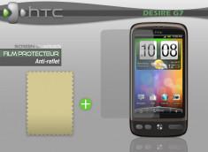 KIT avec 1 film protecteur effet Anti-reflet + 1 chiffon HTC Desire G7