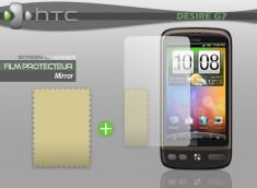 KIT avec 1 film protecteur effet Miroir + 1 chiffon HTC Desire G7