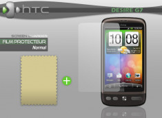 KIT avec 1 film protecteur + 1 chiffon HTC Desire G7