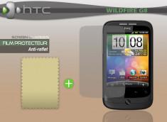 KIT avec 1 film protecteur effet Anti-reflet + 1 chiffon HTC wildfire G8