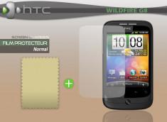 KIT avec 1 film protecteur + 1 chiffon HTC Wildfire G8