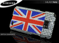 Coque Galaxy S2 British Diamonds