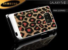 Coque Galaxy S2 Pink Leopard