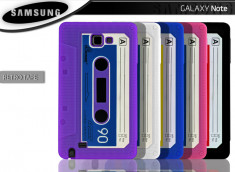 Coque Samsung Galaxy Note 1 Retro Tape