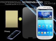 Film Protecteur Samsung Galaxy S3 Privacy