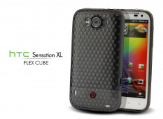 Coque HTC Sensation XL Flex Cube