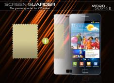 KIT avec 1 film protecteur effet Miroir + 1 chiffon Galaxy S II i9100
