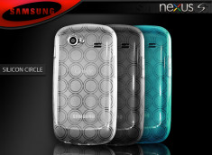 "Coque Nexus S i9020 ""Silicon Circle"""