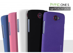 Coque HTC One S SGP Peach Skin Case