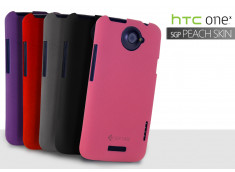 Coque HTC One X SGP Peach Skin Case