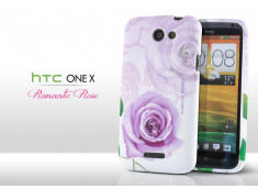 Coque HTC One X Romantic Roses