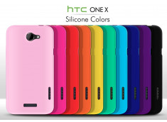 Coque HTC One X Silicone Color