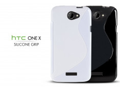 Coque HTC One X Silicone Grip