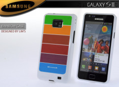Coque Samsung Galaxy S2 Rainbow