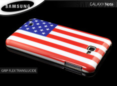 Coque Galaxy Note American Flag