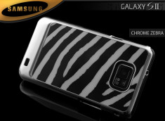 Coque Galaxy S2 Chrome Zebra