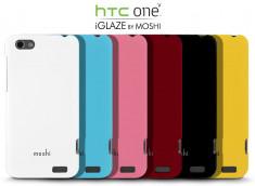 Coque HTC One V iGlaze par Moshi + 1 film protecteur