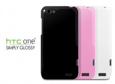 Coque HTC One V Simply Glossy