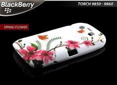 Coque Blackberry Torch 9850/60 Spring flower