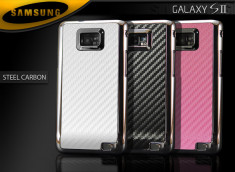 Coque Samsung Galaxy S2 i9100 Steel Carbon